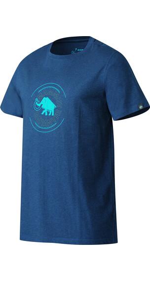 Mammut Garantie Kortærmet T-shirt Herrer blå